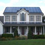 Residential Roof Mount Solar Array in NJ